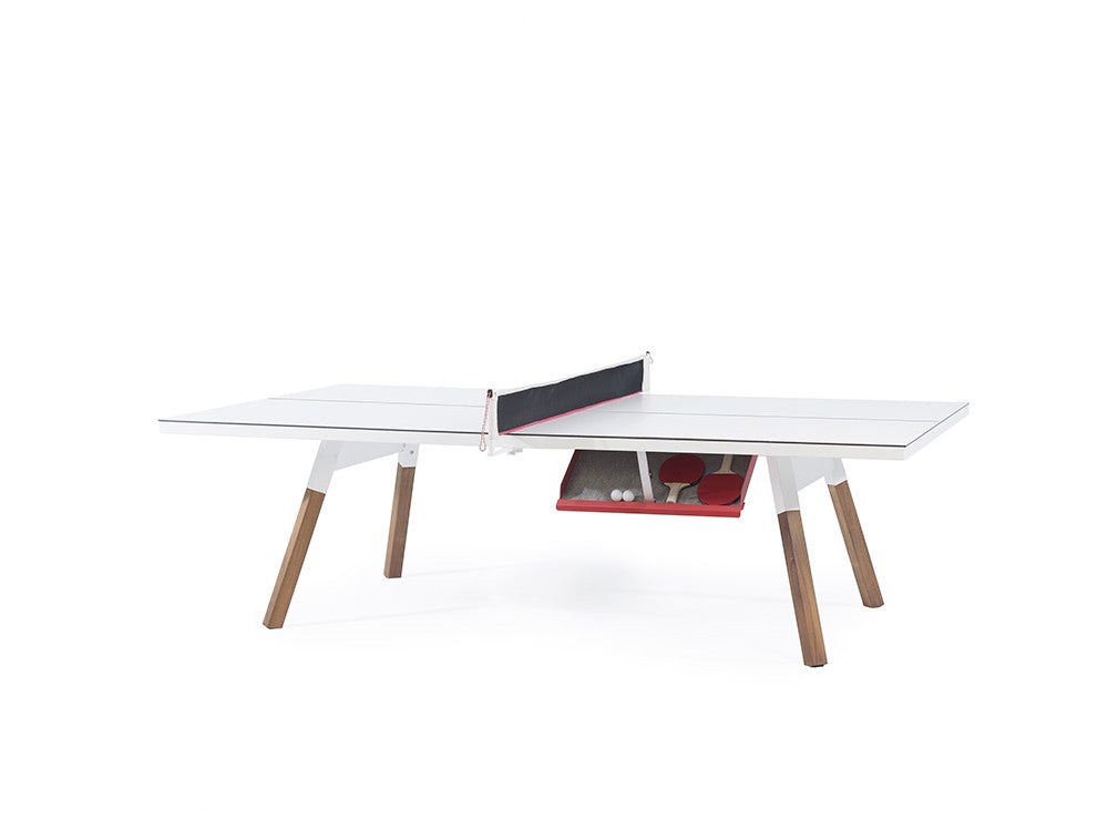 You and Me Ping Pong Table - Standard White