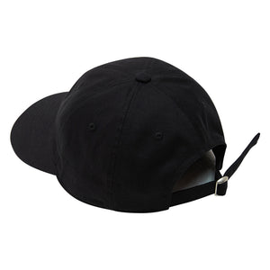 Nivelcrack Logo 6 Panel Cap - Black