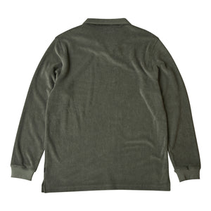 Nivelcrack Terry Drill Top - Olive Green