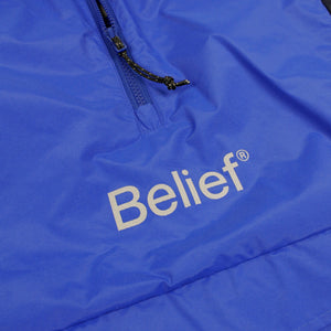 Belief NYC Sport Logo Anorak - Royal