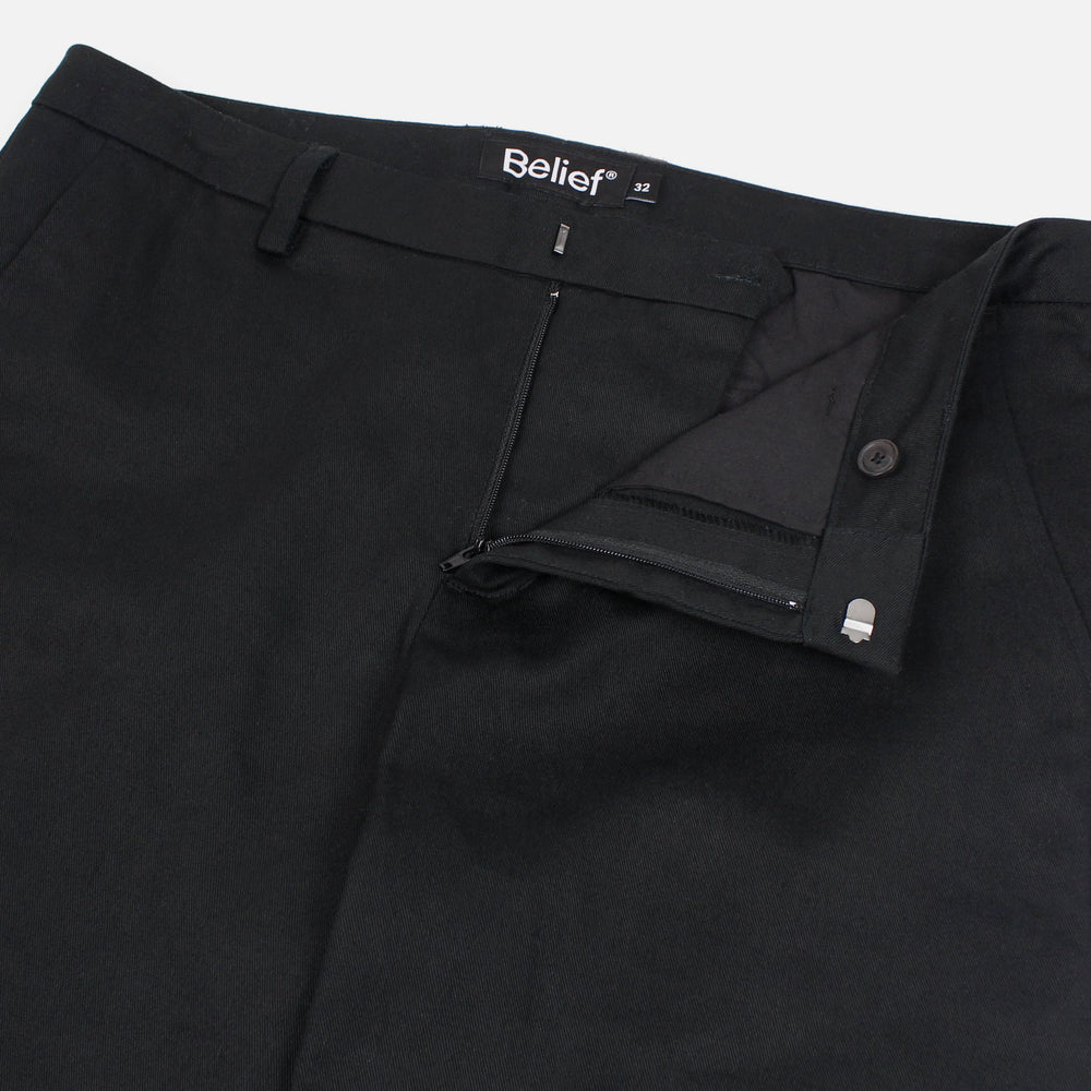 Beleif NYC Heritage Chino Pant - Black