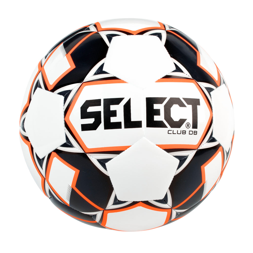 Select Sport Club DB Soccer Ball - NFHS - White/Black/Orange