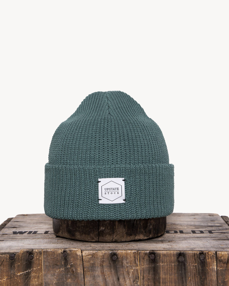 Upstate Stock Eco-Cotton Watchcap - Seafoam