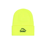 Belief NYC Summit Beanie - Safety Yellow