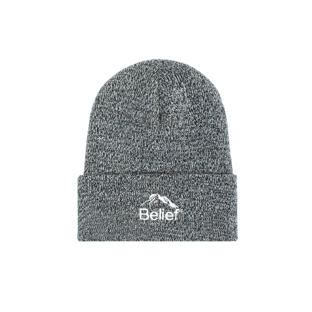 Belief NYC Summit Beanie - Zebra