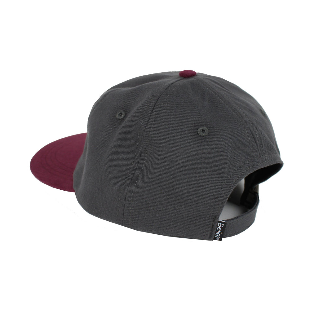 Belief NYC Liberty 6 Panel - Graphite/Burgundy