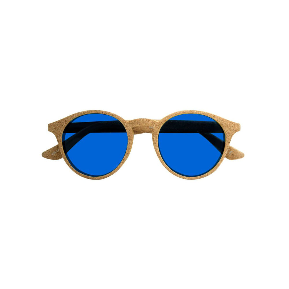 Parafina Laguna Sunglasses - Natural Cork/Parafina Blue