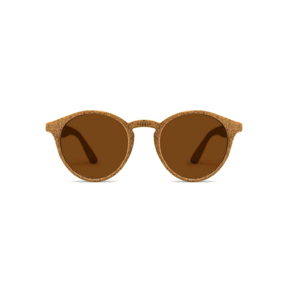 Parafina Laguna Sunglasses - Natural Cork/Royal Caramel