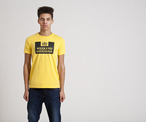Weekend Offender Prison Tee - Beeswax