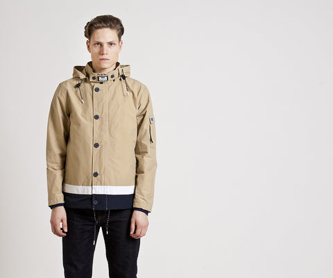Weekend Offender Hemlock Jacket - Stone
