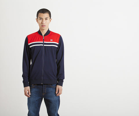 Weekend Offender Farnell Track Jacket - Navy