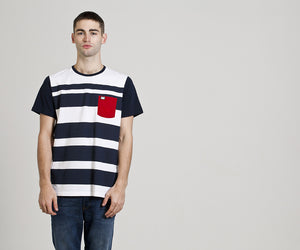 Weekend Offender Quintessence MW15 Navy/White T-Shirt