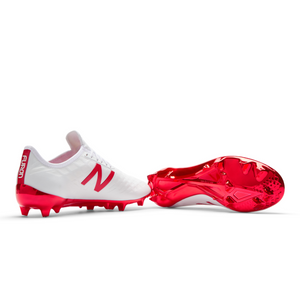 b03f92d8ccaa8 New Balance Furon 4.0 Pro Fg (WIDE) Soccer Boots - White/Flame – The ...