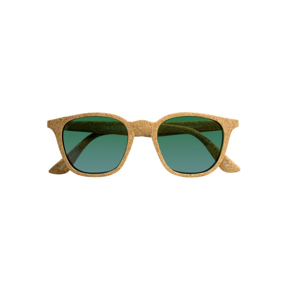 Parafina Niebla Sunglasses - Natural Cork/Amazonas Gradient