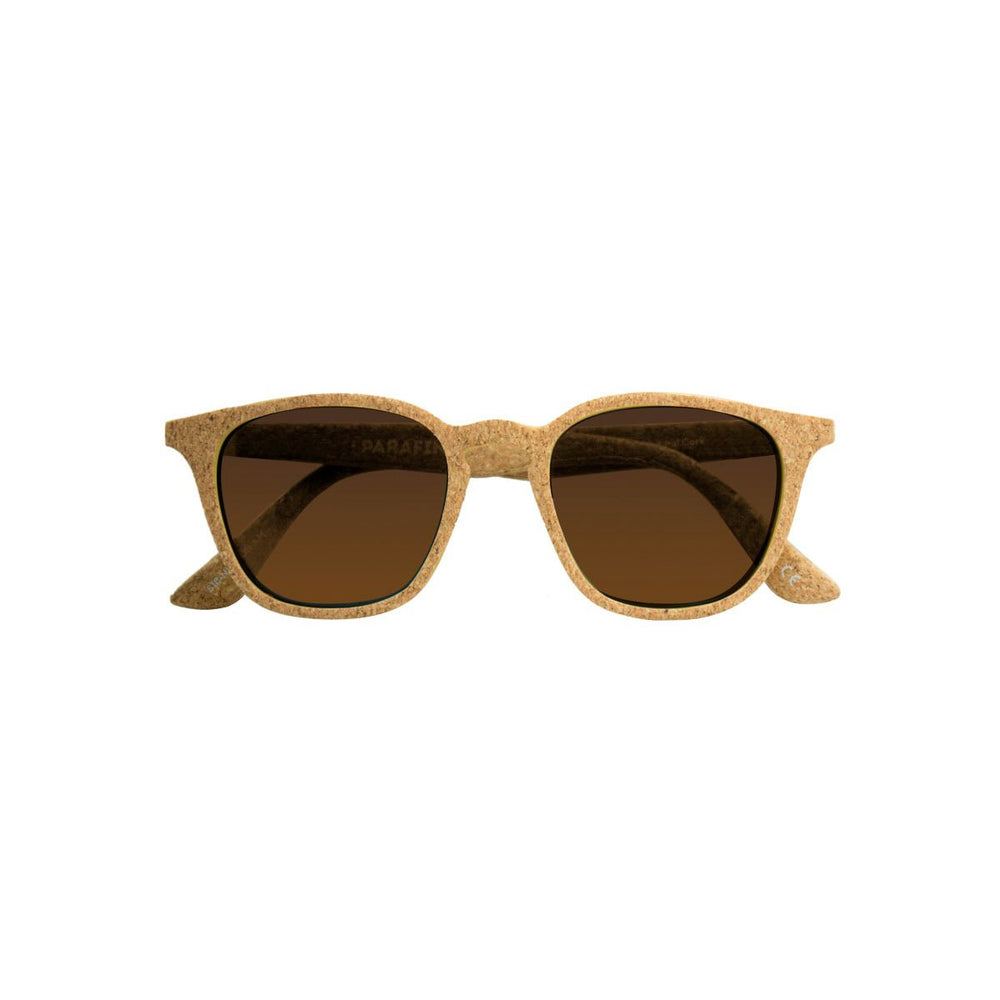 Parafina Niebla Sunglasses - Natural Cork/Royal Caramel