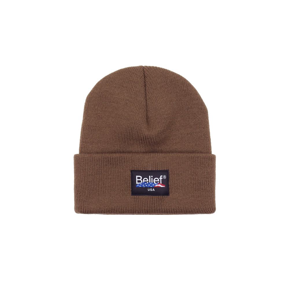Belief NYC United Beanie - Coyote