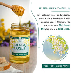 5-PACK Acacia Honey