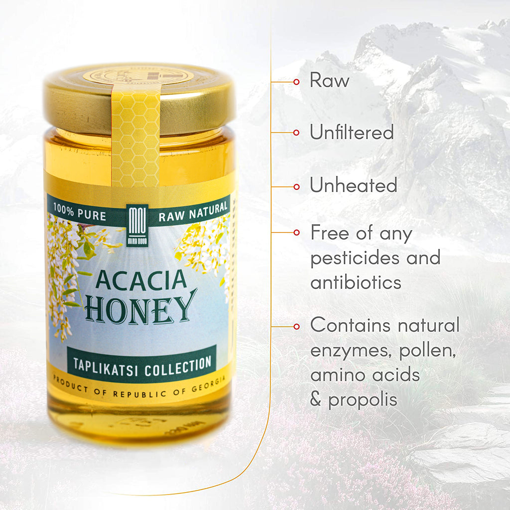 Acacia Raw Honey (17.6 oz)