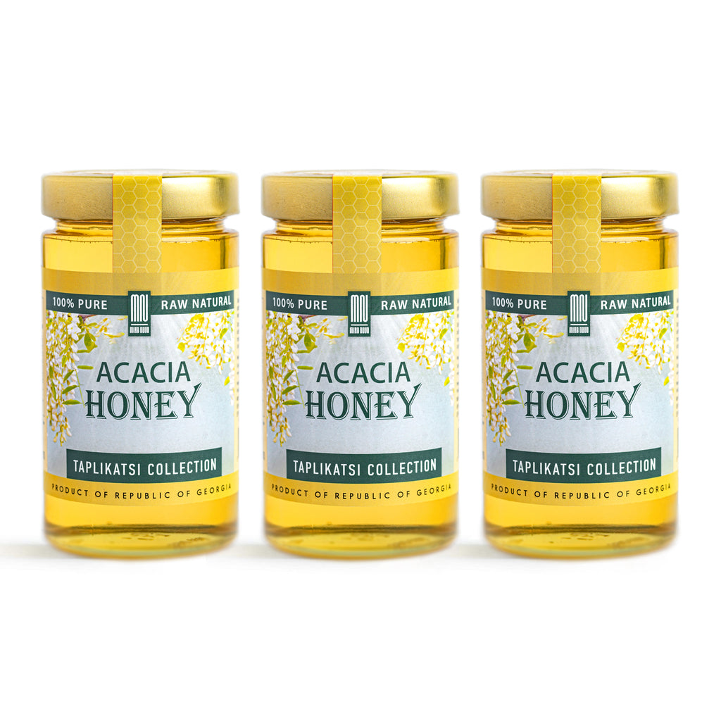 Acacia Raw Honey (3-PACK)