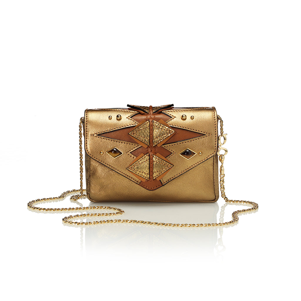 mini gg bag gold medallion