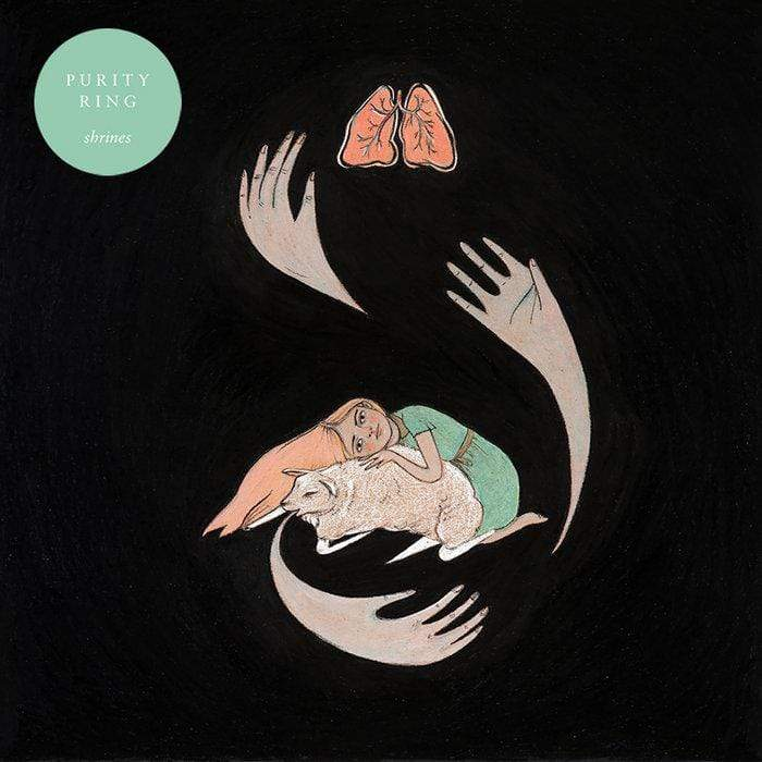 Purity Ring - Shrines (LP - Black Vinyl + Download Card) 4AD
