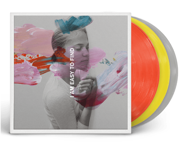 The National - I Am Easy to Find: Deluxe Edition (3xLP - Yellow/Red/Grey Vinyl) 4AD