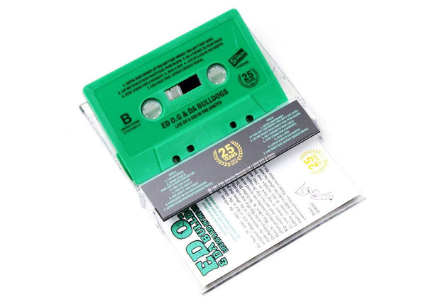 EDO.G & Da Bulldogs - Life Of A Kid In The Ghetto: 25 Year Anniversary (Cassette) 5th & Union