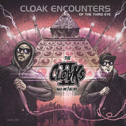 The Cloaks (Awol One & Gel Roc) - Cloak Encounters of the Third Eye (LP - Colored Vinyl) Abolano Records