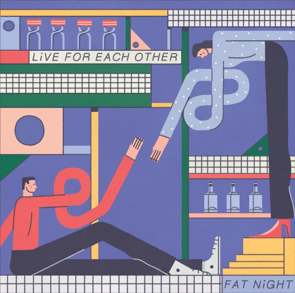Fat Night - Live for Each Other (2xLP) Acrophase Records
