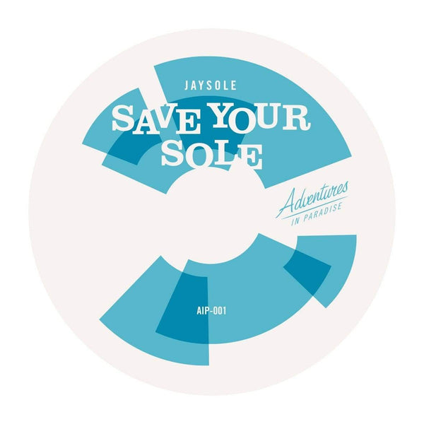 "J Boogie & Jay Sole - Domino Boogie b/w Save Your Sole (7"") Adventures In Paradise"