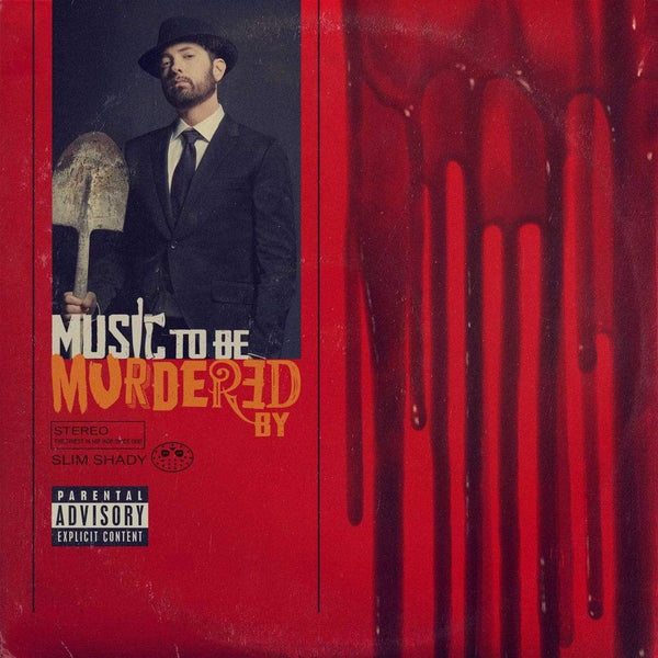 Eminem - Music To Be Murdered By (2xLP - Black Ice Vinyl) Aftermath Entertainment