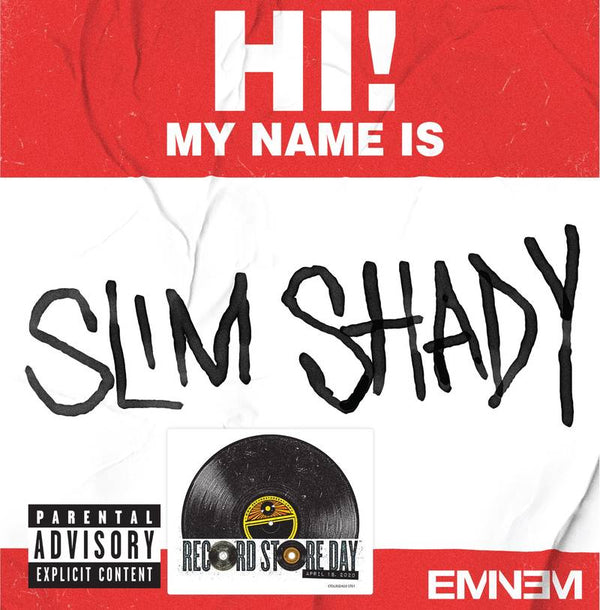 "Eminem - My Name Is b/w Bad Guys Always Die (7"") Aftermath Entertainment"