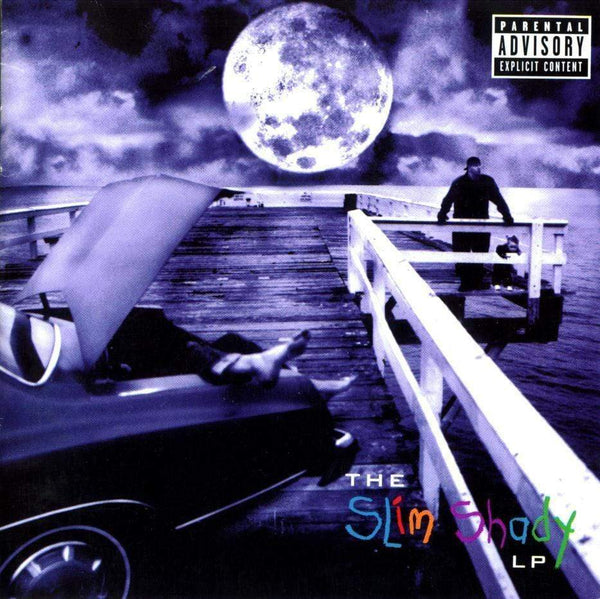 Eminem - The Slim Shady LP (Cassette - Translucent Purple Shell + 3D Cover) Aftermath Entertainment