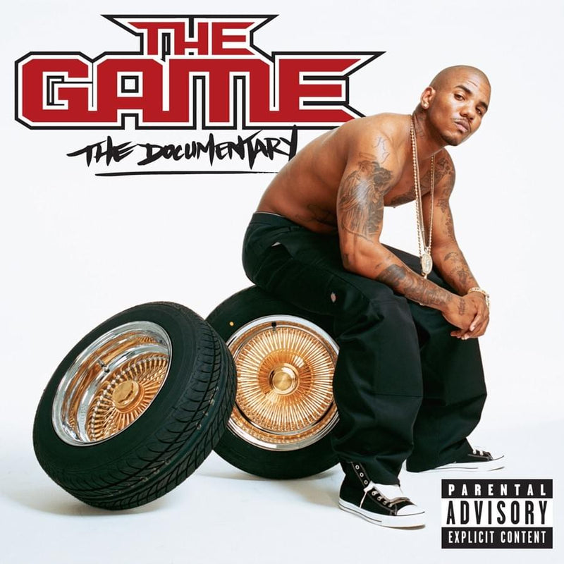 "The Game - The Documentary (2xLP - Deluxe Reissue + 3D Lenticular ""Red Bandana"" Cover) Aftermath Entertainment"