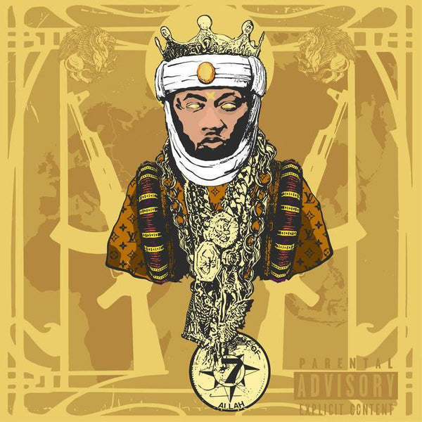 Planet Asia - All Gold Everything (CD) Air Vinyl