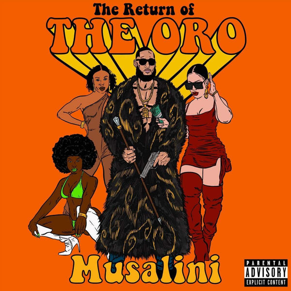 The Musalini - The Return Of The Oro (CD) Air Vinyl