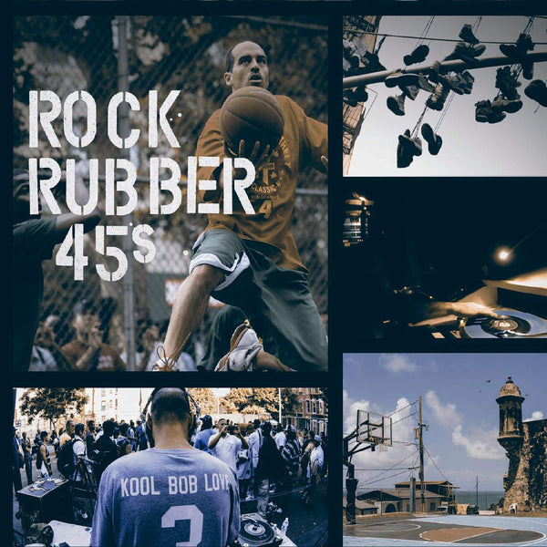 Bobbito García ft. Eddie Palmieri, Robert Glasper + more - Rock Rubber 45s (Digital) Álala Records