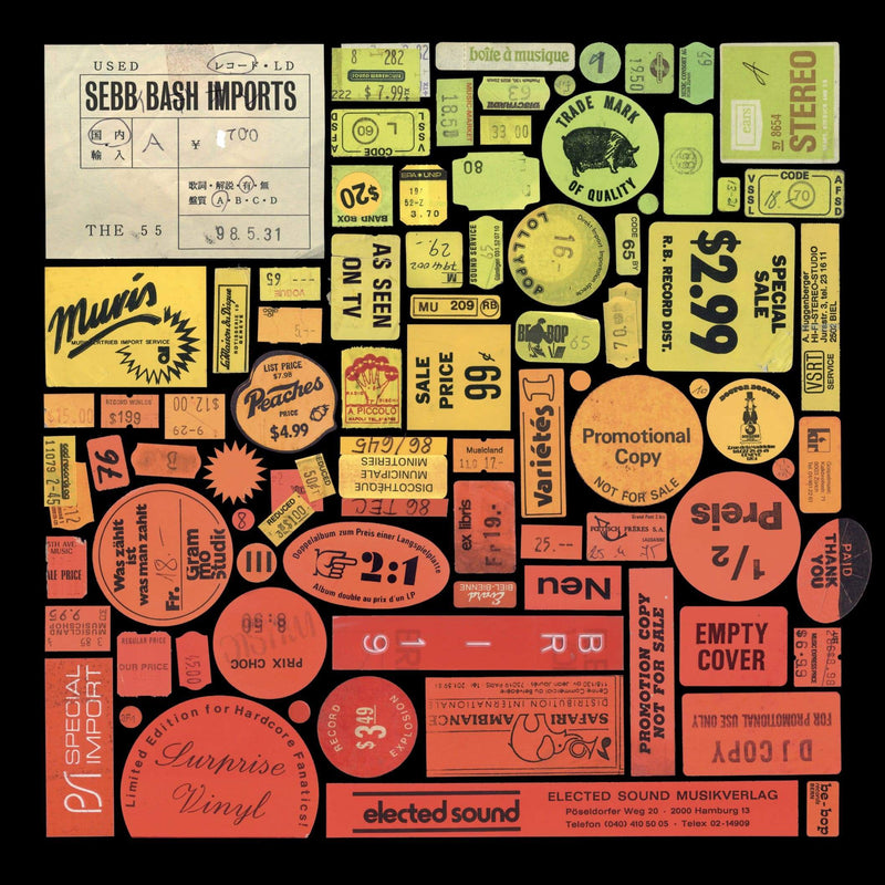 Sebb Bash - Imports (2xLP) ALC Records