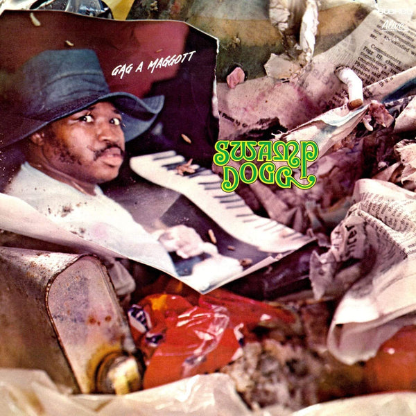 Swamp Dogg - Gag A Maggott (LP - Splatter Vinyl) Alive Records