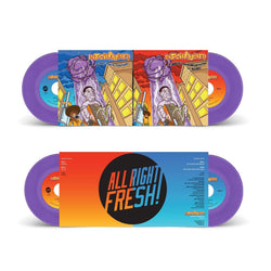 "Massinfluence - All Out Stro Elliot Remix b/w Remix Instrumental + Analyze b/w All Out (2x7"" - Gatefold Jacket) All Right Fresh"