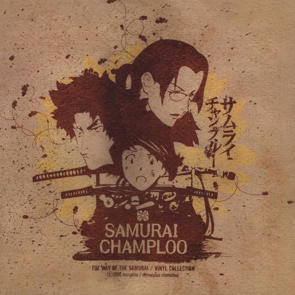 V/A – Samurai Champloo: The Way Of The Samurai / Vinyl Collection (3xLP - Limited Red Vinyl) Ample Soul