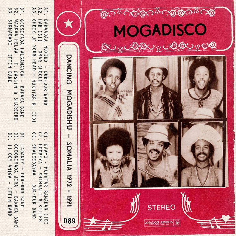 Various Artists - MOGADISCO - Dancing Mogadishu (Somalia 1972 - 1991) (2xLP) Analog Africa