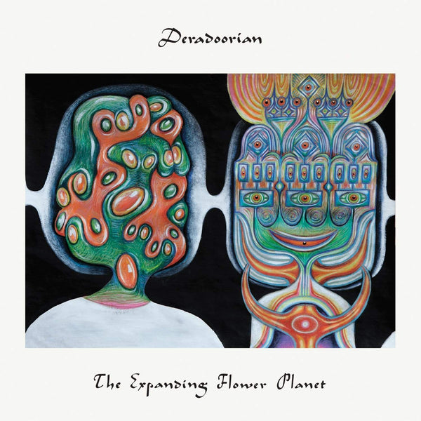 Deradoorian - The Expanding Flower Planet (LP - White Vinyl + Download Card) Anticon