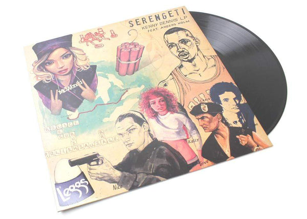 Serengeti - Kenny Dennis LP (LP + Download Card) Anticon