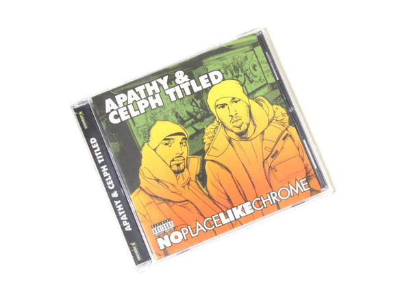Apathy & Celph Titled - No Place Like Chrome: Reissue (CD) Antidote Records