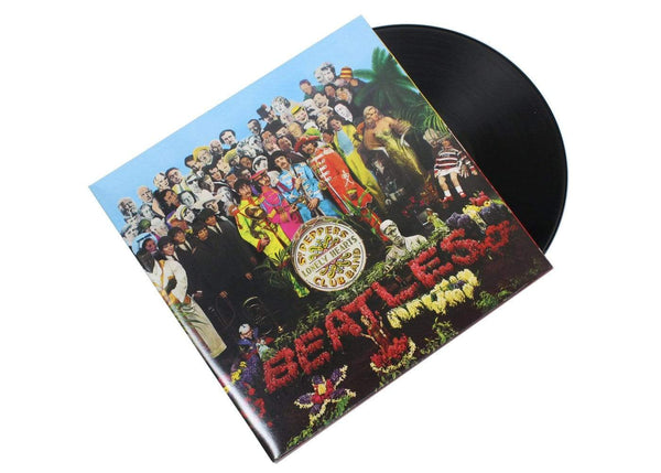 The Beatles ‎– Sgt. Pepper's Lonely Hearts Club Band (LP - Reissue) Apple Records