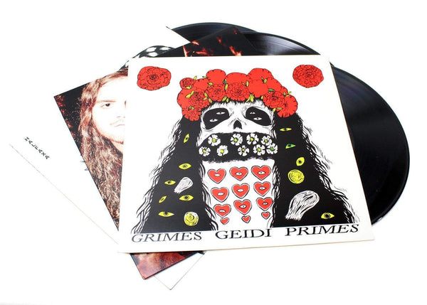 Grimes - Geidi Primes / Halfaxa / Darkbloom (3xLP Bundle - Reissues) Arbutus Records