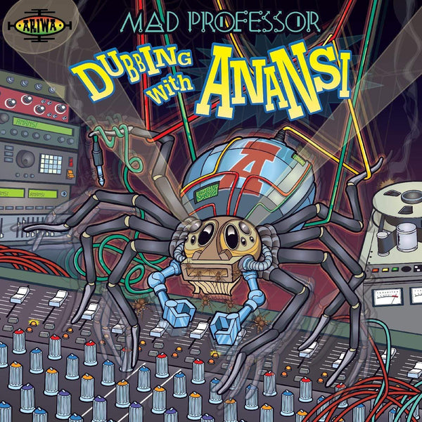 Mad Professor - Dubbing With Anansi (LP) Ariwa Sounds