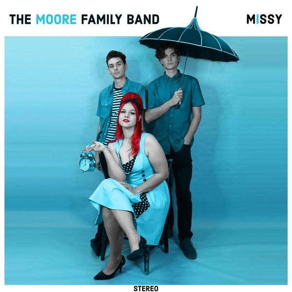 Moore Family Band - Missy (LP) Asian Man Records
