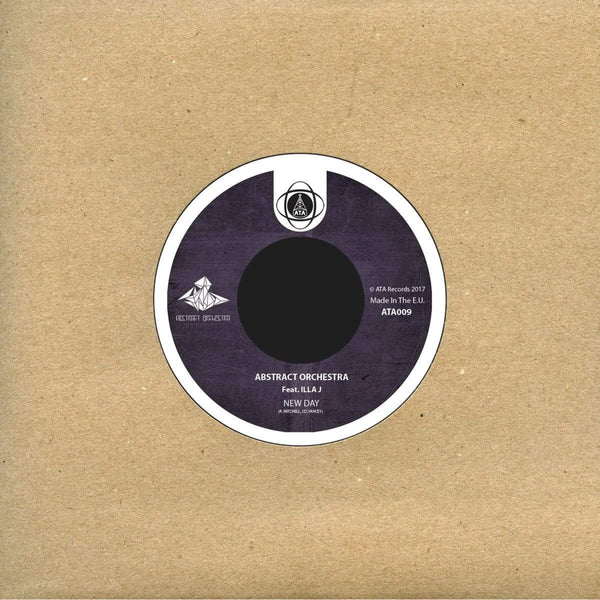 "Abstract Orchestra - New Day feat. Illa J (7"") ATA Records"